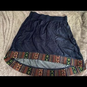 Roots High-Lo Skirt